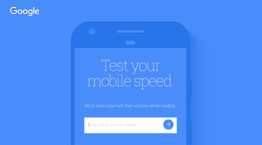 Google Test My Site Mobile first