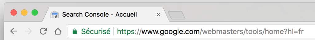 Tab Google Webmaster Tools