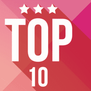 top 10 pink with 3 stars