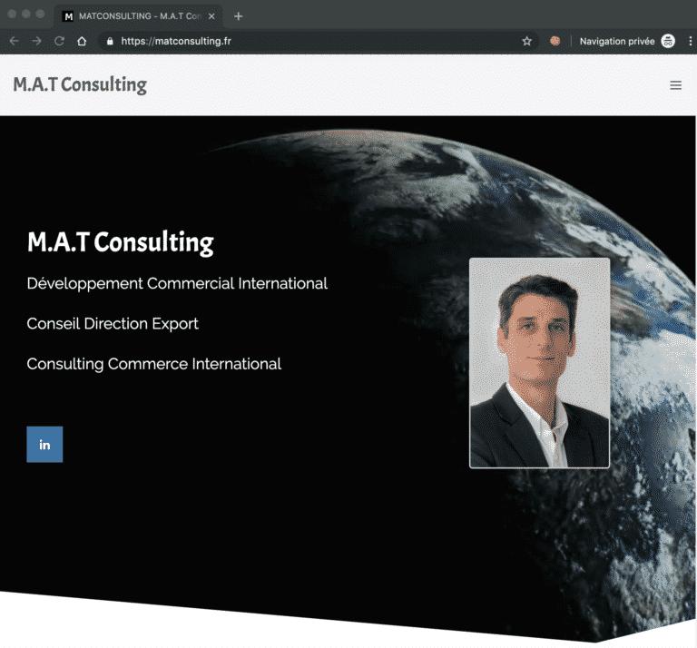 mat consulting Screenshot