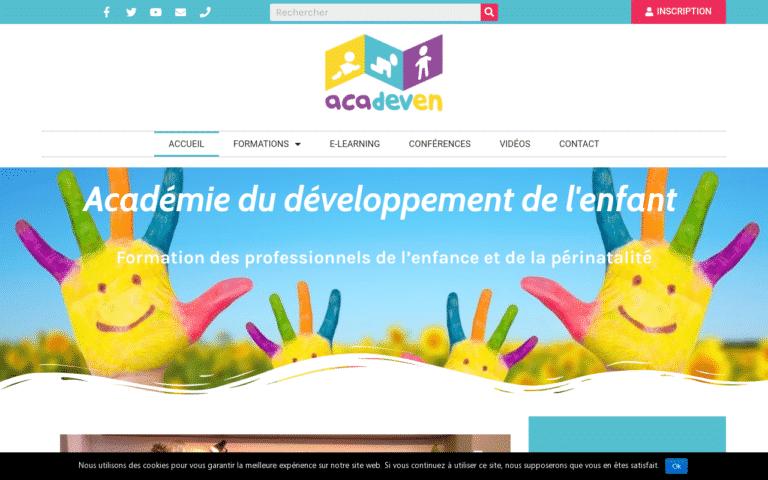 site web acadeven agence web marseille accointance agence digitale